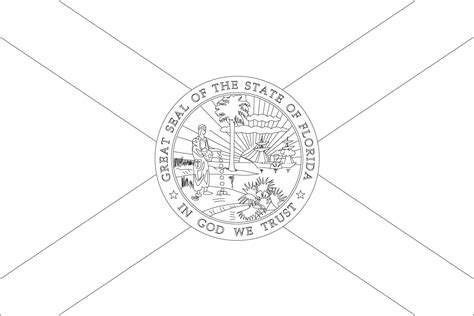 Florida Flag Coloring Page world flags coloring pages 3