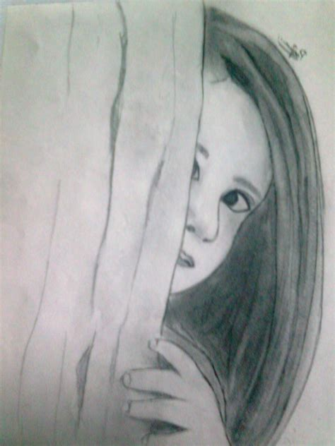 Sketches With Pencil by Creative Pencil Sketches Pencil Sketch My Photo Drawing