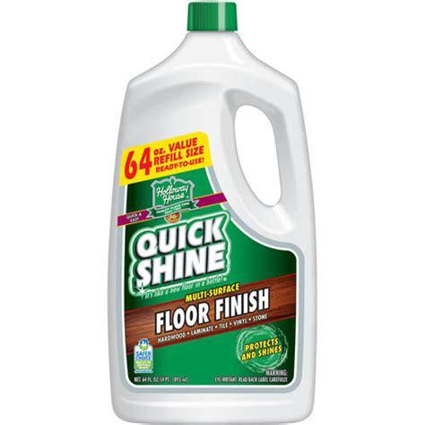 Shiny Floor Cleaner by Shine Floor Finish 64 Fl Oz Walmart