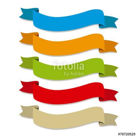 imagenes vectores colores quot cintas de colores onduladas etiquetas para titulos