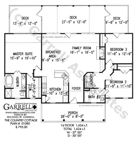 cottage house plans one floor tale cottage house