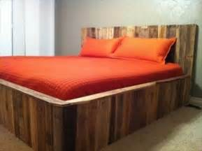 Inexpensive Wood Bed Frames 34 Diy Ideas Best Use Of Cheap Pallet Bed Frame Wood