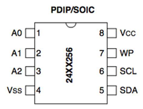 Memory 24c16 Smd adding external i2c eeprom to arduino 24lc256