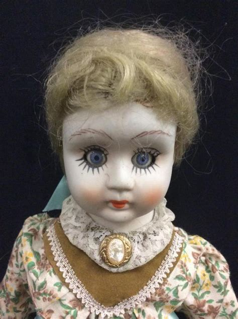 bisque porcelain doll vintage painted bisque porcelain doll in condition