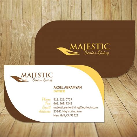 home design business home health care business card design in glendale ca