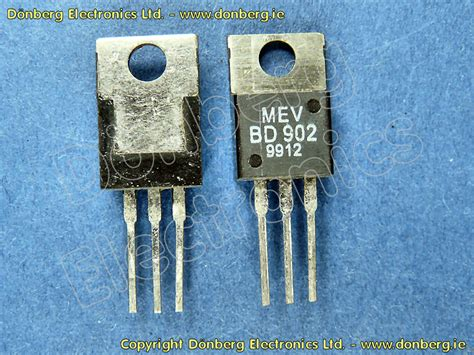 transistor darlington bd semiconductor bd902 bd 902 silicon pnp darlington 100v 8a 70w