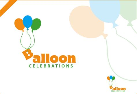 logo design for balloon celebrations by poisonvectors business logo design for balloon celebrations by navd