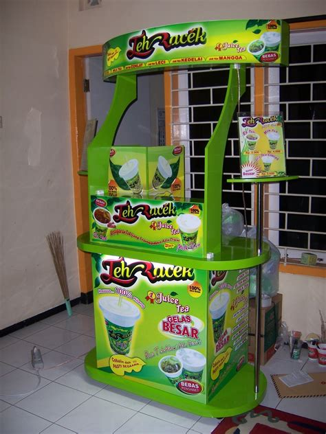 Freezer Mini Di Malang jasa pembuatan rombong booth counter gerobak stand di