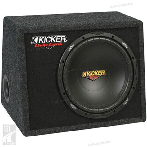 Speaker Kicker kicker vds12 4 ohm model car subwoofer