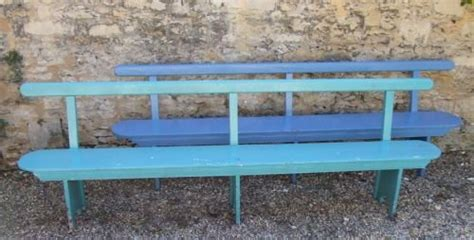 painted wooden garden benches uk a pair of painted wooden railway platform garden benches