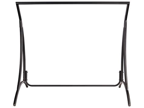 Wrought Iron Swing With Stand woodard briarwood wrought iron swing stand stb179