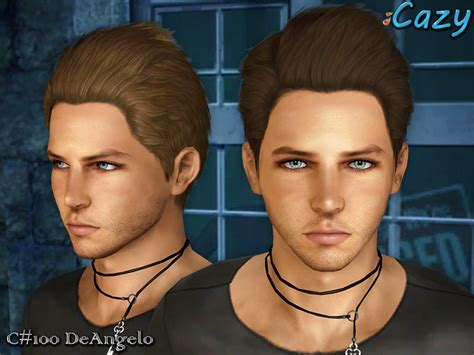 download hair the sims 3 male cazy s deangelo hairstyle set