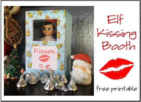 free printable elf on the shelf photo booth elf on the shelf printables 4 mom