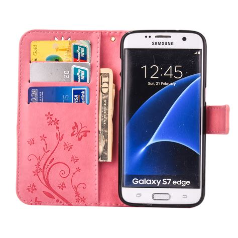 Flipcover Samsung Galaxy S8 Plus Flip Cover Leather S8 Cove T0310 patterned flip leather wallet stand cover for samsung galaxy s7 s8 s8 plus ebay