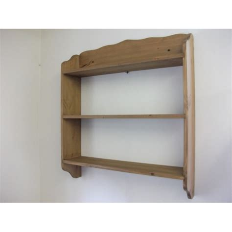 pine wall shelves w91 5cm