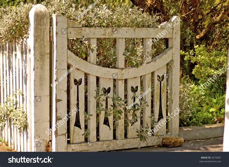 Ideas For Old Gates Old Wooden Garden Gate Stock Photo 2019287 Shutterstock