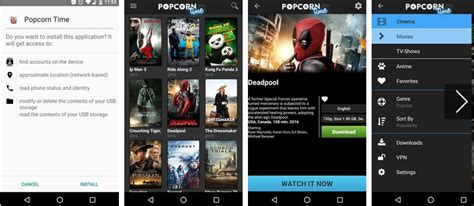 time apk popcorn time apk newest 2018 version released appinformers