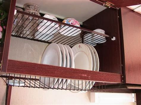 Dish Holder For Kitchen Cabinet Above The Sink In Cabinet Dish Drainer Kitchen Around The Worlds Dish