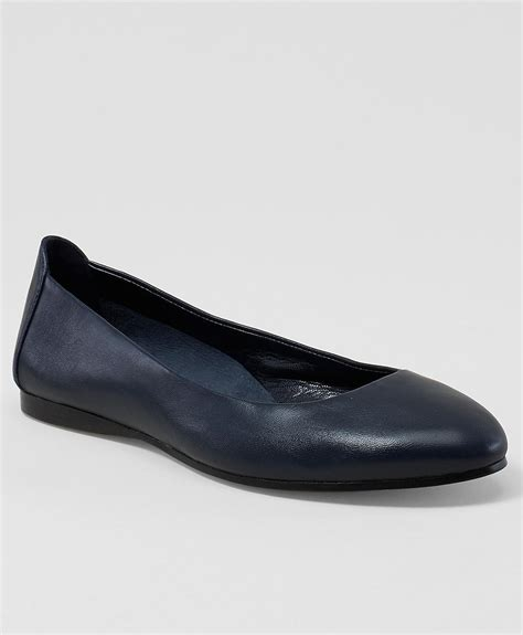 Connexion Flat Shoes Navy brothers ballet flats in blue lyst