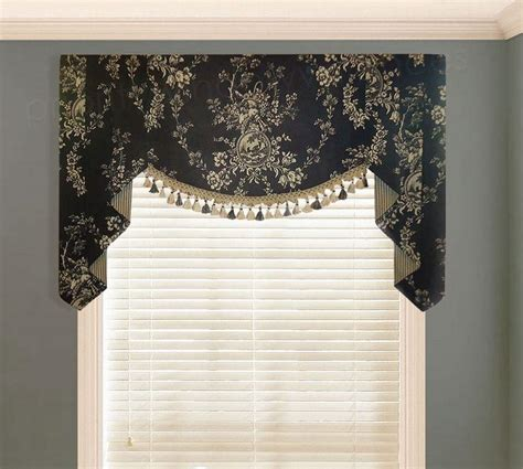 black curtains with valance country curtains pineapple valance window treatments