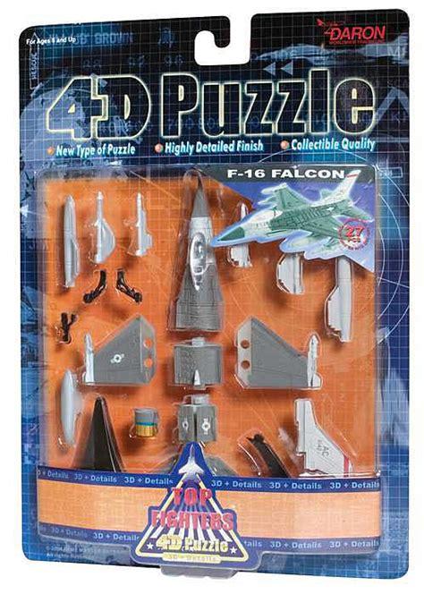 4d Puzzle Black With 3d Detail 4d puzzle f 16 falcon 3d puzzle puzzlewarehouse