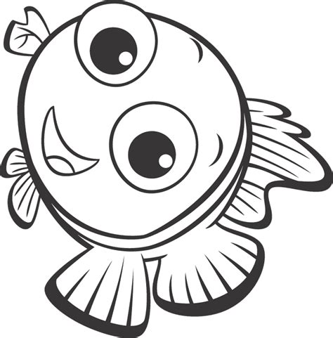 Free Coloring Pages Of Nemo Coloring Pages Nemo