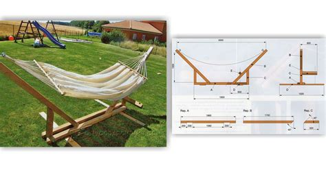 Wooden Hammock Stand Plans hammock stand plans woodarchivist