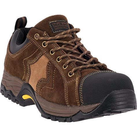 work shoes mcrae composite toe work shoes brown 657356 work boots