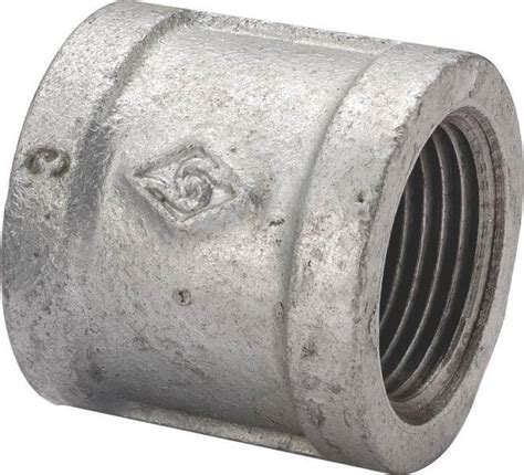 3 Inch Plumbing Fittings by New 3 Quot Inch Galvanized Pipe Threaded Coupling Fitting