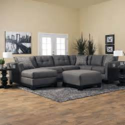 romero living room sectional jerome s furniture living room modern red and black sectional sofa black