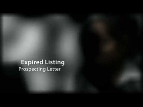 expired listing letter expired listing prospecting letter 1213