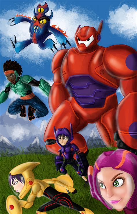 big fan basic 6 big hero 6 big hero 6 fan art 38281173 fanpop