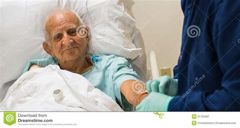 old man in bed elderly man royalty free stock photography image 31755367