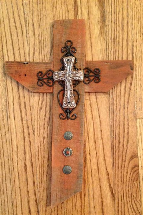 Handmade Wooden Crosses - rust sold cross ties handmade wooden crosses