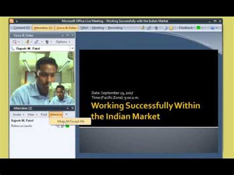 Office Live Meeting by Office Live Meeting Demo 1 Join A Meeting