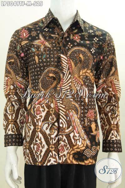 Size Baju Executive baju hem premium motif mewah khas executive baju batik tulis lengan panjang pake furing til