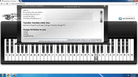 learn piano using computer keyboard how to play the piano via computer keyboard youtube