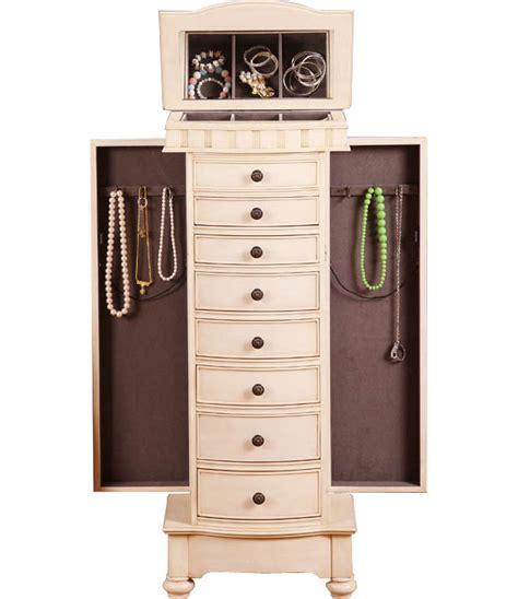 armoire jewelry chest jewelry chest armoire in jewelry armoires