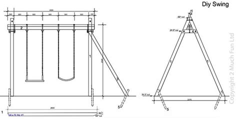 Patio Swing Blueprint 34 Free Diy Swing Set Plans For Your Backyard