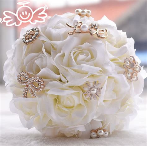 Wedding Bouquet Stores by Aliexpress Buy Artificial Silk Flower