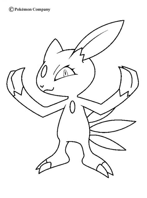 ice pokemon coloring pages sneasel coloring pages hellokids com