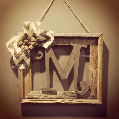 Etsy Wall - barnwood rustic home decor frame with by allthatsrustic on