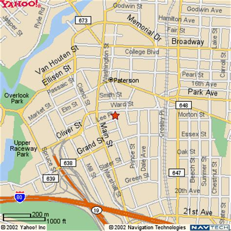 map of paterson new jersey state of new jersey