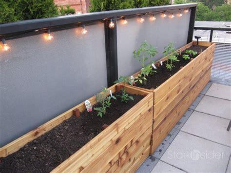diy project vegetable planter box plans  stark