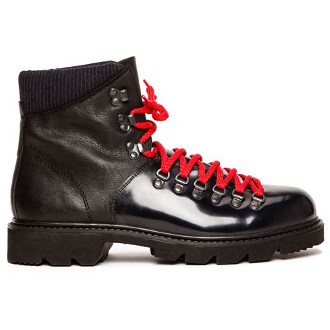 carven hiking boots in black for lyst