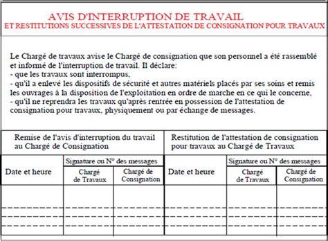 Modèle Ordre De Service Interruption Travaux