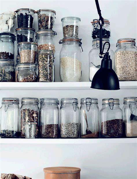 designer kitchen storage jars korken jar with lid clear glass preserve ikea and jars