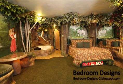 forest themed room modern bedroom design takes the forest style