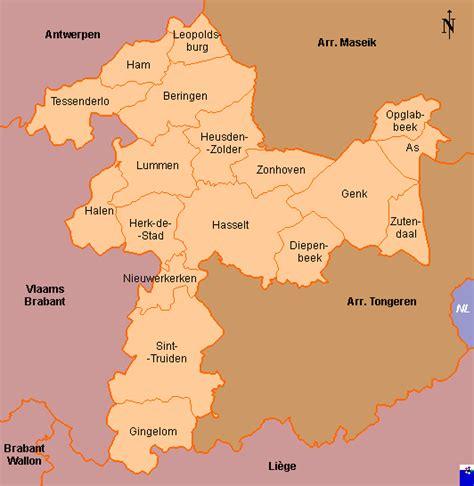 belgium provinces map province belgium municipal flags in province limburg new