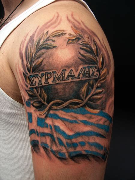 greek design tattoos images designs